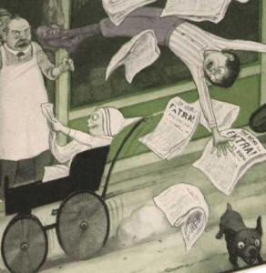 newspapercrash